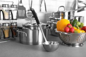 Edelstahl Küche
