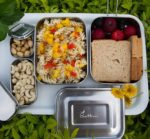 Sattvii Edelstahl Eco Lunchbox Picknick
